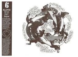 Quando a cobra morde seu rabo (Morlaque), por Patrice Killoffer
