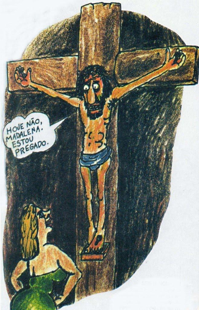 CHARGE - JAGUAR - Madalena e Jesus Cristo
