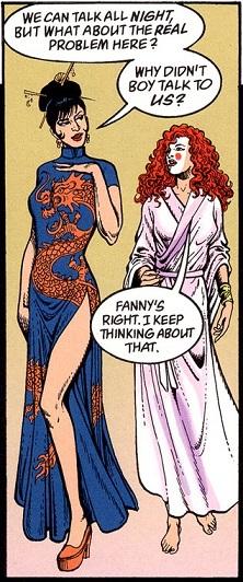 ...e os figurinos exuberantes: a performance de Fanny.