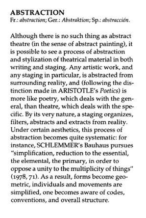 Dictionary of the Theatre: Terms, Concepts, and Analysis Por Patrice Pavis,Christine Shantz