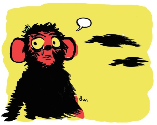 Balbúcio, o mascote da Balbúrdia