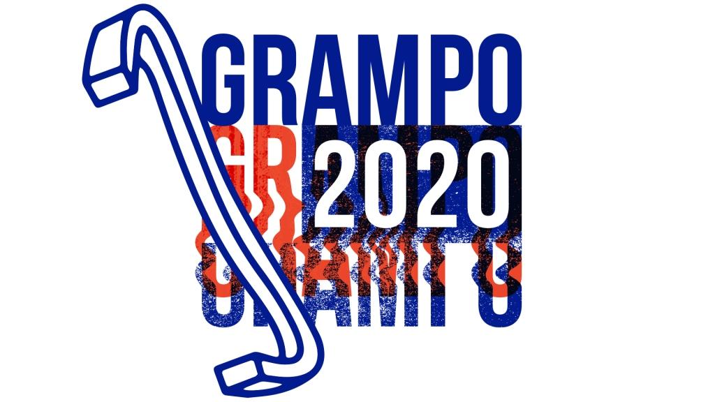 Logo Prêmio Grampo 2020 por Jairo Rodrigues